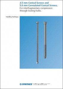 LCP Prox Tibia 3,5 Conical Screws